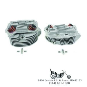 Panhead Cylinder Heads with Valves Stock Bore FL 63-65