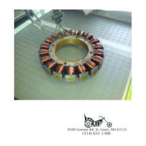 38 Amp Stator for Softtail and Dynas 01-04