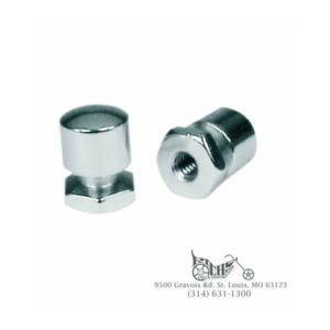 Mustang Solo Mounting Nuts Chrome Harley-Davidson FLT 99-12