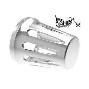V-Factor Mass Flow Intake Air filter Cover Big Twin & Sportster Chrome