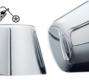 Kuryakyn Front Axle Nut Covers for Harley Models