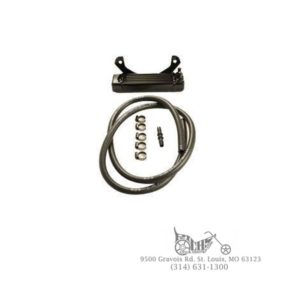 Oil Cooler Horizontal Mount Style for Harley Big Twin 1955 Up