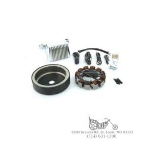 Alternator Charging System Kit 45 Amp Carbureted and Fuel Injected FLT 97-98