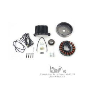 Alternator Charging System Kit 50 Amp 29943-06 FLT FLH FXR 89-98