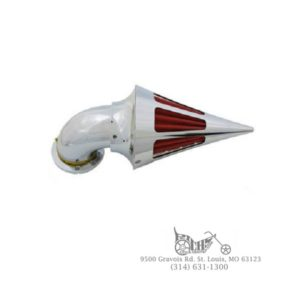 Panzer Air Cleaner Cone Spike Style with Slots S&S E Carburetors
