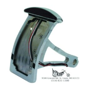 Axel Mount Taillight License Plate assembly Softail 86-99