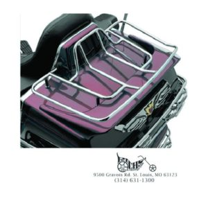 Kuryakyn Luggage Rack with Mounting Kit 88-00 GL1500 Goldwing