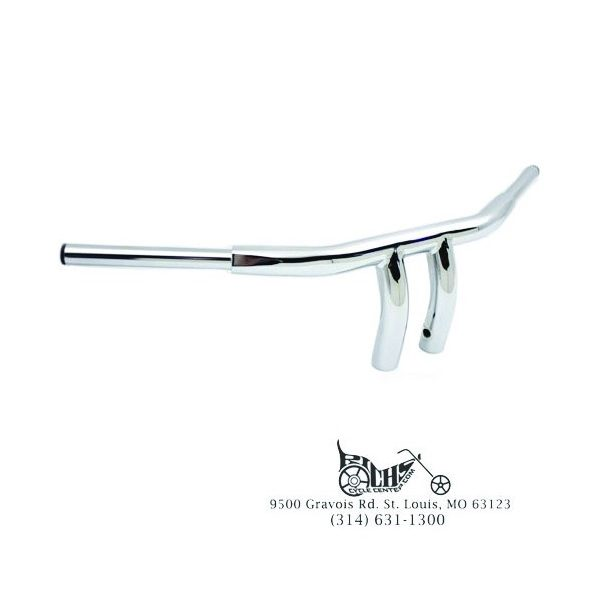 "1-1/2"" Chrome Handlebars FL FX XL 74-81"