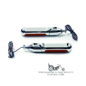 Billet Chopper Style Footpeg Set - Fits See Below