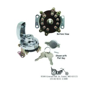 Ignition Switch for Big Twin Fat Bob 36-95 replaces HD 75105-73