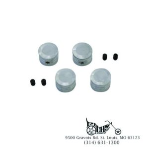 Chrome Head Bolt Cover Set 43890-93 FLST XL FXST FLT FXR FXD 86-03