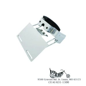 Tail Lamp Chrome Stock Style Bracket - FXWG 80-86, FXST 84-99