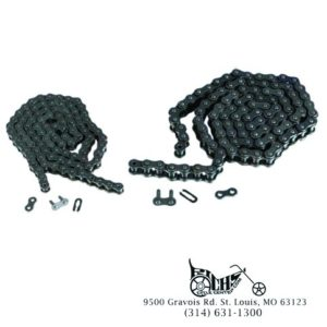 Non O-ring Up to 125cc Motorcycle Chain Size 428 Standard 124 Links