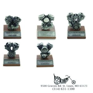 5 Piece Pewter Motor Model Set