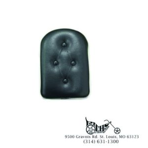 Four Button Sissy Bar Pad (w/Clamps & Screws)