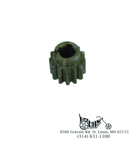 13 Tooth 2-Brush Generator Drive Gear for Harley FL 1958-69