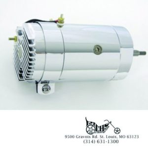 Chrome 12 Volt 2-Brush Generator Low Output FL 41-69 XL 57-81