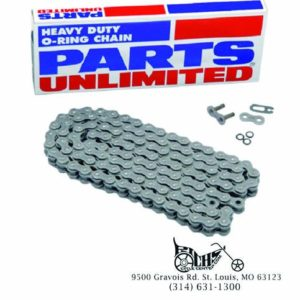 X-Ring Chain Size 520 100 Links for Motorcycle up to 750cc