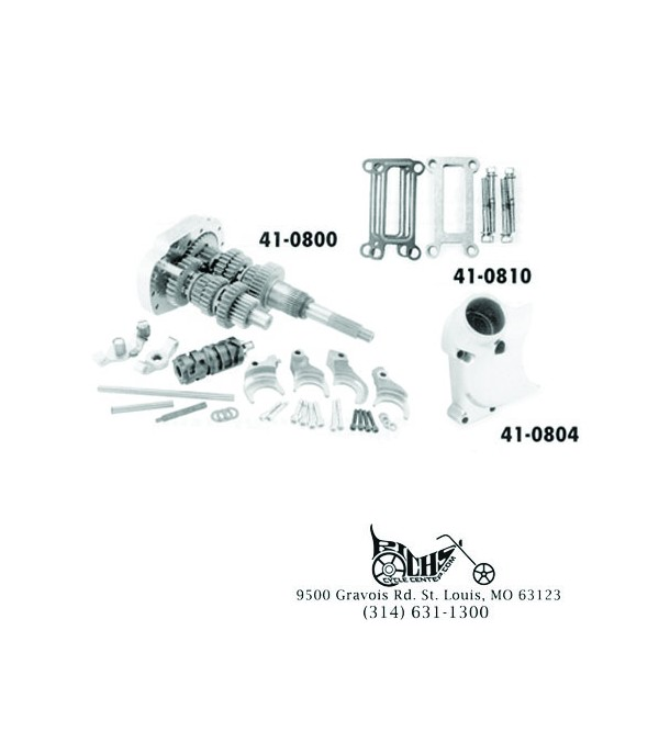 Baker 6-Speed Builders Kit - 3 24 Close Ratio - 41-0865
