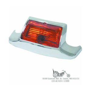 OE Style Rear Red Lighted Fender Tip Touring Models Rpls 59658-79