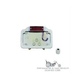Billet Tail Lamp Assembly LED - Fits: Custom application