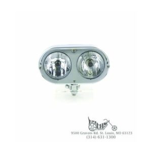4'' Dual bottom mount custom style headlamp