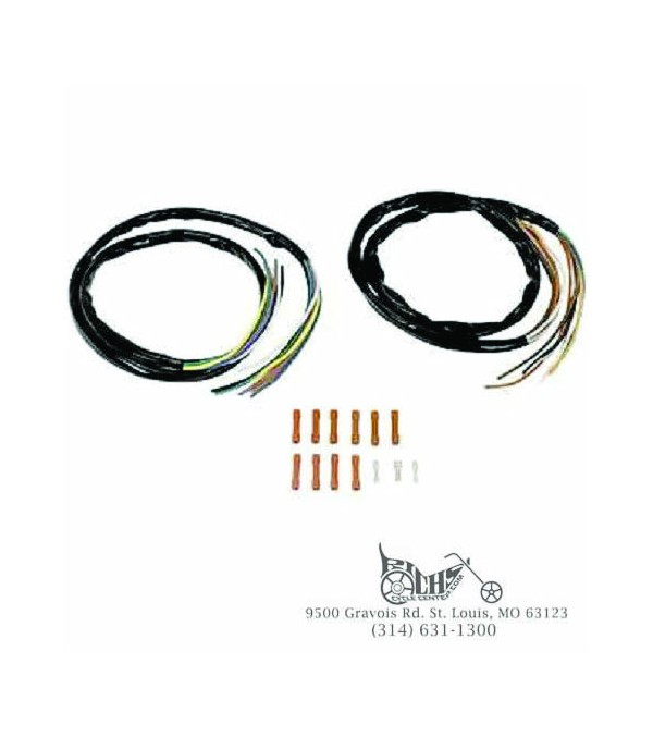 48 Extended Wiring Harness For 82 95 Harleys 12048