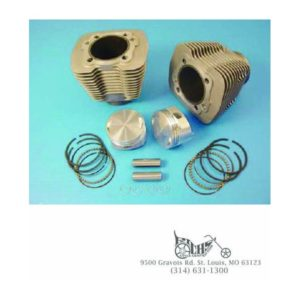 88'' Evolution 3-5/8'' Big Bore Cylinder Kit for 84-98 Harley Models