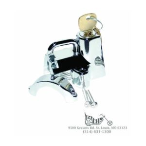 Motion Pro 7/8'' Chrome Helmet Lock