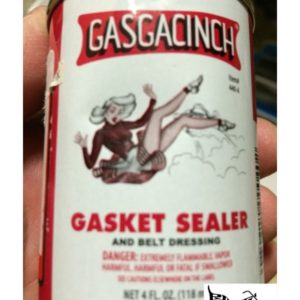 Gasgacinch Gasket Sealer for all Gaskets 4oz. 05043