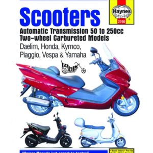 Haynes Scooter Repair Manual 2760