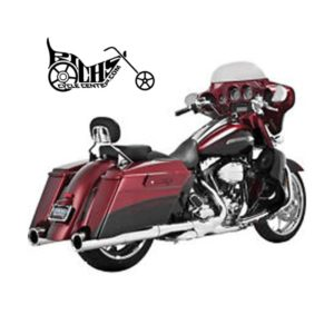 Vance and Hines Power Duals Headr System 09-15 FLHT FLHX FLHR FLTR