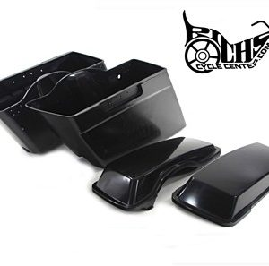 Saddle Bag Set with Lids FLT 93-13 92003-10BDK
