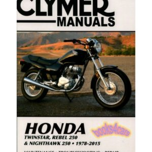 Clymer Manual Honda Rebel, Twinstar, Nighthawk 78-87 & 91-97 M324