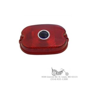 Tail Lamp Blue Dot Red Plastic Lens FL XL FX 55-72