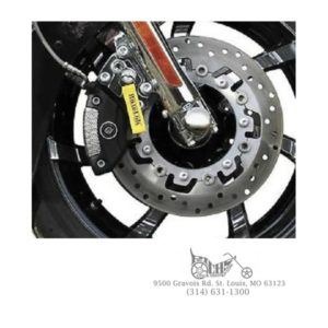 Roadlok Anti-Theft System 01-12 FLT FLH Chrome