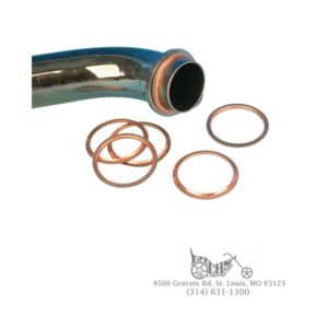 Exhaust Gasket 66-84 Big Twin Shovelhead (Pair) 65834-68X