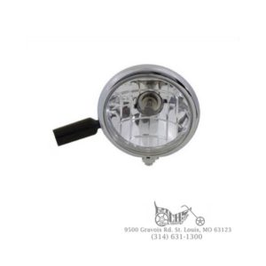 "5-3/4"" Reflector Lamp Unit Reverse Cup Style 12 volt 60-55 watt clear bulb"