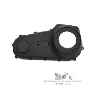Black Outer Primary Cover w/Smooth Finish for Harley FXD 2007-Up