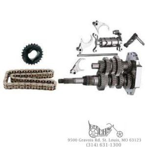 Baker DD6 Direct Drive 6 Speed Builders Kit FLH FLHT 01-06