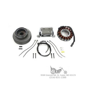 Alternator Charging System Kit 50 Amp 3 Phase 40356-07 FLH FLT 09-Up