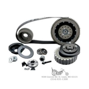 BDL 8mm Belt Drive Kit with Quiet Clutch System 70-83 Shovelhead