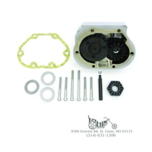Chrome Kick Starter Kit for Harley 5-speed