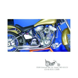 V-FACTOR DRAG PIPES FOR BIG TWIN & SPORTSTER – Richs Cycle