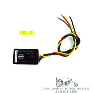 GearBrake intelligent deceleration and brake light module