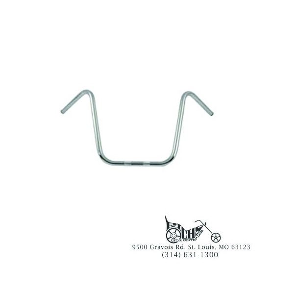 "15-1/2"" Ape Hanger Handlebars without Indents FL FX XL 74-81"