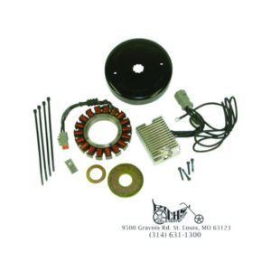 38 Amp Charging System Softail 84-99 Dyna FXR 91-98 FLT 84-94